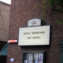 SIFF sign for Harvard Exit theatre